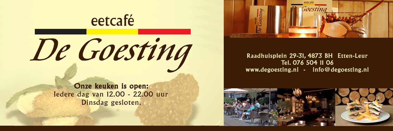 De Goesting eetcafé Etten-Leur
