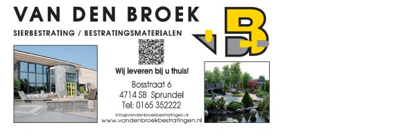 Van den Broek sierbestrating / bestratingsmaterialen