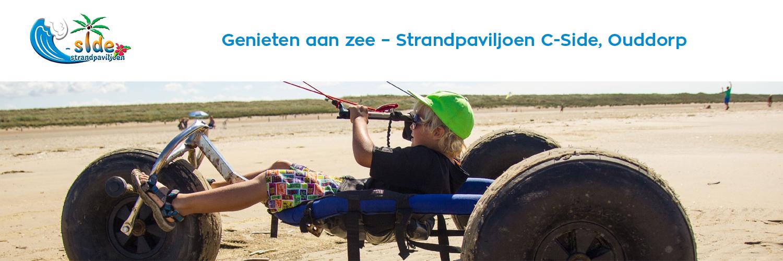 Strandpaviljoen C-side in omgeving Ouddorp aan Zee, Zuid Holland