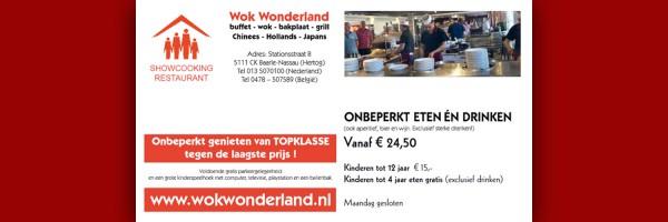 Wok Wonderland in omgeving RCN de Flaasbloem