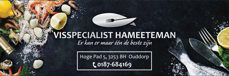 Visspecialist Hameeteman in omgeving Ouddorp, Zuid Holland