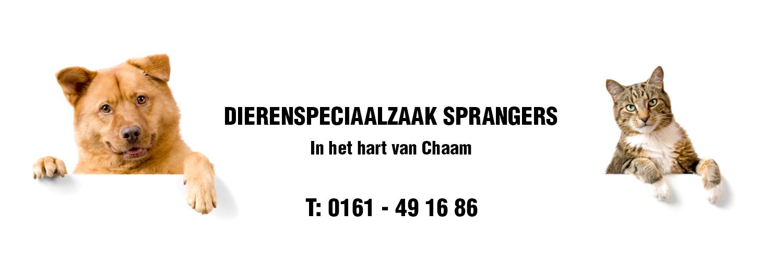 Dierenspeciaalzaak Sprangers in omgeving Chaam, Noord Brabant