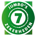 7 zekerheden van Jumbo