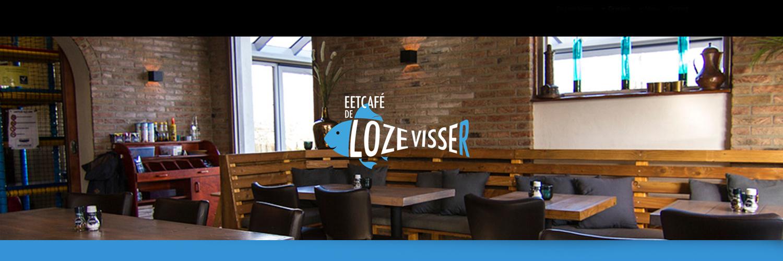 """Eetcafé """"De loze visser"""" in omgeving Renesse, Zeeland"""