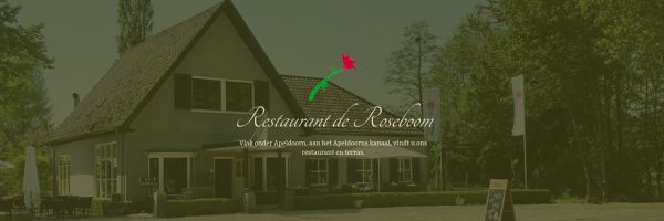 Eethuis de Roseboom in omgeving Gelderland
