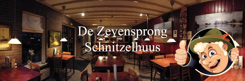 Schnitzelhuus De Zevensprong in omgeving Hoenderloo,