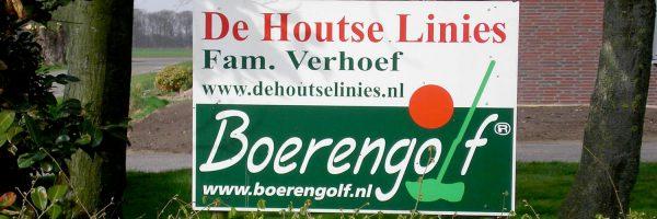 """Boerengolfbaan """"De Houtse Linies"""" in omgeving Oosterhout"""