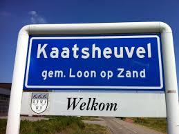Welkomstbord Kaatsheuvel