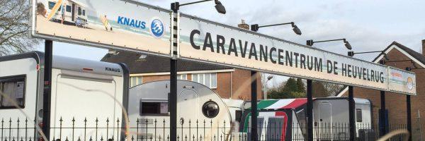 Caravanbedrijf De Heuvelrug in omgeving Utrecht