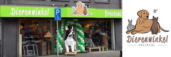 Dierenwinkel Breskens in omgeving West-Zeeuws Vlaanderen