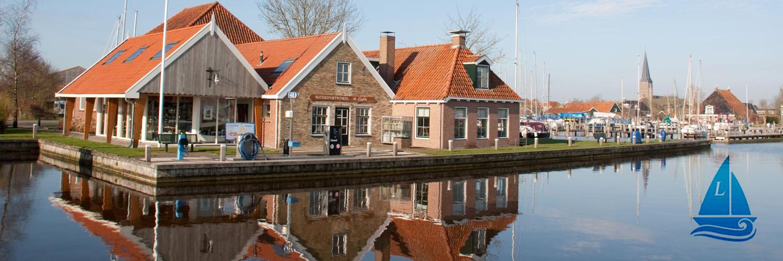 Watersportwinkel De Liefde in omgeving Workum, Friesland