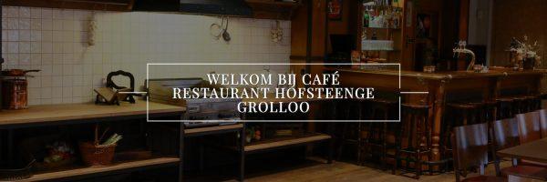 Café Restaurant Hofsteenge in omgeving Drenthe