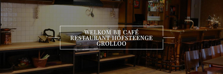 Café Restaurant Hofsteenge in omgeving Grolloo,