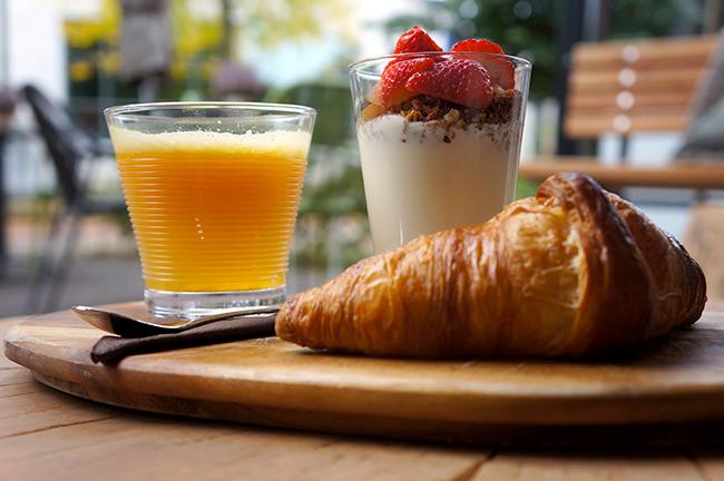 Heerlijk ontbijt bij Frouke Doorn
