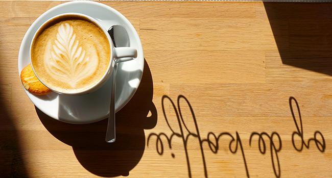 Heerlijk op de koffie bij Frouke