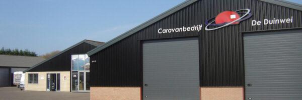 """Caravanbedrijf """"de Duinwei"""" in omgeving Rockanje - Oostvoorne"""
