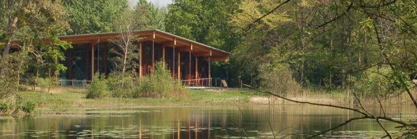 Bezoekerscentrum Tenellaplas in omgeving Rockanje - Oostvoorne